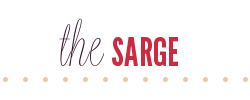 the happy life blog: the sarge
